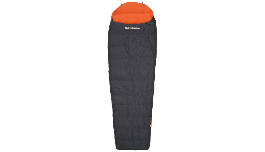 Sea to Summit Trek TkI - Sac de couchage - Long orange/noir